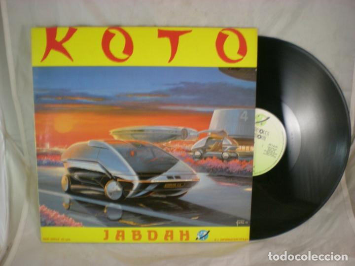 Discos de vinilo: Koto - Jabdah - Key Records Int. - KRI-023-M - SPAIN - Foto 3 - 156915946