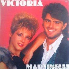 Discos de vinilo: MARTINELLI– VICTORIA - MAXI-SINGLE DIVUCSA 1987. Lote 156919390