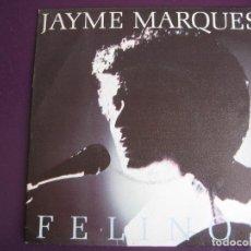 Discos de vinilo: JAYME MARQUES SG POLYDOR 1984 FELINOS/ NUBES DE ALGODON - BRASIL BOSSA JAZZ - SIN USO. Lote 156936594