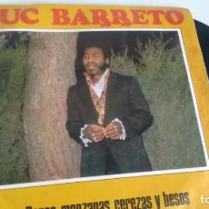 Discos de vinilo: SINGLE (VINILO) DE LUC BARRETO AÑOS 70. Lote 156942554