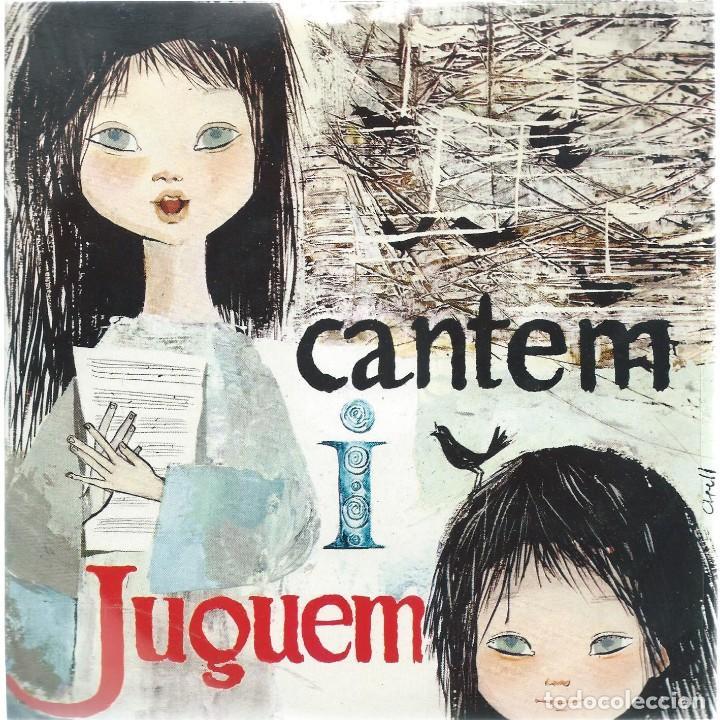 SALVADOR ESCAMILLA, CANTEM I JUGUEM. EDIGSA 1962 (Música - Discos de Vinilo - EPs - Cantautores Españoles)