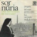 Discos de vinilo: SOR NURIA, CONCENTRIC 1966 -CON HOJA INTERIOR-. Lote 156944170