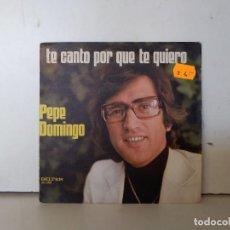 Discos de vinilo: PEPE DOMINGO . Lote 156945746