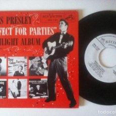 Discos de vinilo: VARIOS - ELVIS PRESLEY - PERFECT FOR PARTIES - SINGLE USA PROMOCIONAL - RCA. Lote 156948934
