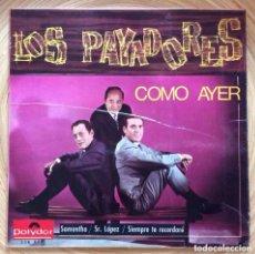 Discos de vinilo: LOS PAYADORES EP EDIC ESPAÑA AÑO 1966. Lote 156952354