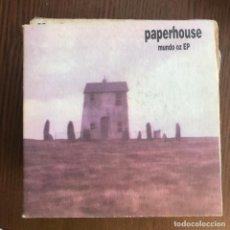 Discos de vinilo: PAPERHOUSE - MUNDO OZ EP - EP ACUARELA 1994 . Lote 156953598
