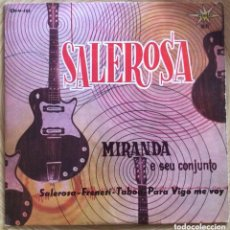 Discos de vinilo: MIRANDA E SEU CONJUNTO EP MARFER AÑO 1963. Lote 156954162