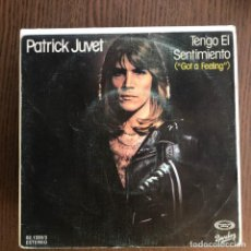 Discos de vinilo: PATRICK JUVET - GOT A FEELING / ANOTHER LONELY MAN - SINGLE MOVIEPLAY 1978 . Lote 156958914