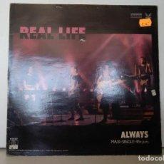 Discos de vinilo: REAL LIFE . Lote 156961022