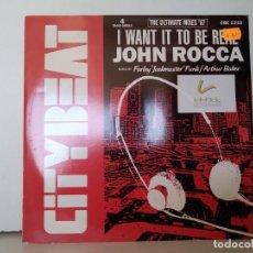 Discos de vinilo: JOHN ROCCA . Lote 156961314