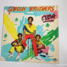 Discos de vinilo: GIBSON BROTHERS - CUBA (VINILO). Lote 156962438