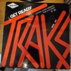 Discos de vinilo: TRAKS - GET READY. Lote 156963078