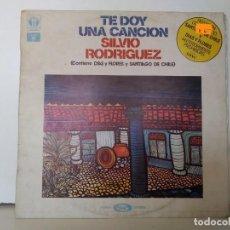 Discos de vinilo: TE DOY UNA CANCIÓN . Lote 156964438