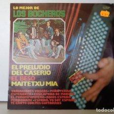 Discos de vinilo: LO MEJOR DE LOS BOCHEROS . Lote 156964830