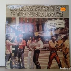 Discos de vinilo: GRANDMASTER FLASH & THE FURIOUS FIVE . Lote 156965310