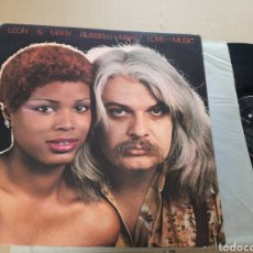 Discos de vinilo: LEON & MARY RUSSELL MAKE LOVE TO THE MUSIC. Lote 156965656
