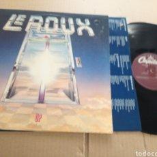 Discos de vinilo: LE ROUX UP. Lote 156967008