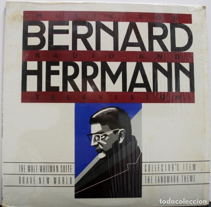 BERNARD HERRMANN. MÚSICA PARA RADIO Y TELEVISIÓN segunda mano