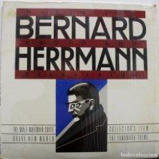 Discos de vinilo: BERNARD HERRMANN. MÚSICA PARA RADIO Y TELEVISIÓN. Lote 156967286