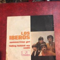 Discos de vinilo: LOS IBEROS SINGLE DE 1968. Lote 156971802