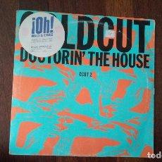 Discos de vinilo: COLDCUT-DOCTORIN' THE HOUSE.MAXI. Lote 156974062