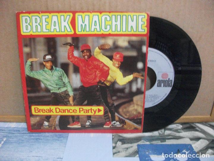 SINGLE BREAK MACHINE- BREAK DANCE PARTY, 1984. (Música - Discos - Singles Vinilo - Rap / Hip Hop)