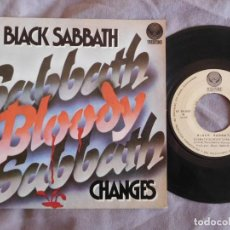 Discos de vinilo: BLACK SABBATH 7 SINGLE SABBATH BLOODY SABBATH AÑO 1973 . Lote 157000170