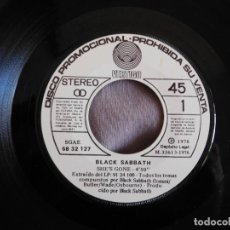 Discos de vinilo: BLACK SABBATH 7 SINGLE SHE´S GONNE AÑO 1976 PROMOCIONAL. Lote 157000374