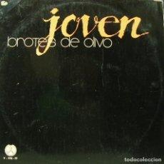 Discos de vinilo: BROTES DE OLIVO - JOVEN LP DOBLE 1980 SPAIN. Lote 157000422