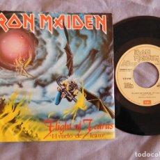 Discos de vinilo: IRON MAIDEN 7 SINGLE FLIGHT OF ICARUS EDICIÓN ESPAÑOLA DEL AÑO 1983 PROMOCIONAL PROMO. Lote 157001138