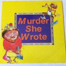 Discos de vinilo: CHAKA DEMUS & PLIERS - MURDER SHE WROTE - 1992. Lote 157001450