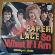 Dischi in vinile: PAPER LACE - SO WHAT IF I AM. Lote 157001884