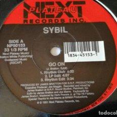 Discos de vinilo: SYBIL - GO ON - 1991. Lote 157001966