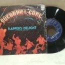 Discos de vinilo: ANTIGUO SINGLE SUGARHILL GANG RAPPERS DELIGHT BUEN ESTADO VER FOTOS. Lote 157009606