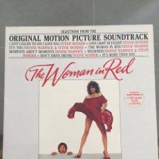 Discos de vinilo: THE WOMAN IN RED-LA MUJER DE ROJO-LP BSO MADE IN GERMANY-ORIÓN PICTURE 1984. Lote 157014725