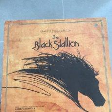 Discos de vinilo: THE BLACK STALLION-EL CORCEL NEGRO-LP BSO MADE IN USA-UNITED ARTISTS 1980-CARMINE COPPOLA. Lote 157016345