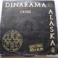 Discos de vinilo: DINARAMA + ALASKA CRISIS. Lote 157017406