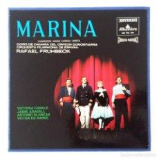 Discos de vinilo: MARINA - DE ARRIETA - CAMPODRON - POR EL CORO DE CAMARA DEL ORFEON DONOSTIARRA. Lote 157019870