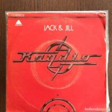 Discos de vinilo: RAYDIO - JACK & JILL / GET DOWN - SINGLE ARISTA 1978 . Lote 157028354