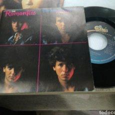 Discos de vinilo: THE ROMANTICS SINGLE PROMOCIONAL TALKING IN YOUR SLEEP ESPAÑA 1983. Lote 157050245