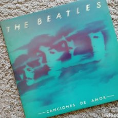 Discos de vinilo: THE BEATLES. SELECCIÓN (DOBLE LP) CANCIONES DE AMOR. 1982. Lote 157102152