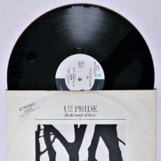 Discos de vinilo: U2 - PRIDE - IN THE NAME OF LOVE - 1984 - ISLAND RECORDS - ED. AUSTRALIA - LIMITED EDITION - RARO. Lote 157106758