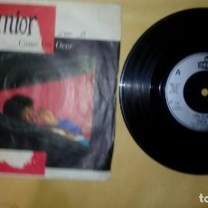 Discos de vinilo: JUNIOR  ‎– COME ON OVER . Lote 157106910