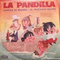 Discos de vinilo: LA PANDILLA - CAPITAN DE MADERA - 1970 MOVIE PLAY. Lote 157108526