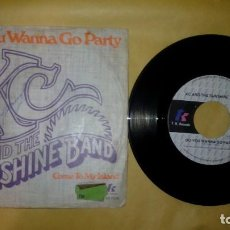 Discos de vinilo: KC & THE SUNSHINE BAND ‎– DO YOU WANNA GO PARTY . Lote 157110902