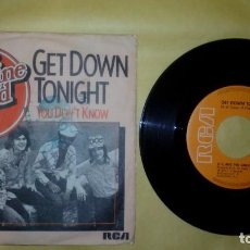 Discos de vinilo: KC & THE SUNSHINE BAND ‎– GET DOWN TONIGHT . Lote 157113862