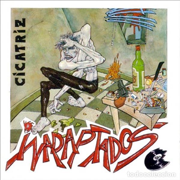 CICATRIZ INADAPTADOS LP . PUNK ESKORBUTO KORTATU MCD LA POLLA RECORDS VOMITO RIP (Música - Discos - LP Vinilo - Punk - Hard Core)