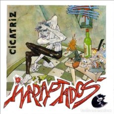 Discos de vinilo: CICATRIZ INADAPTADOS LP . PUNK ESKORBUTO KORTATU MCD LA POLLA RECORDS VOMITO RIP. Lote 157119850