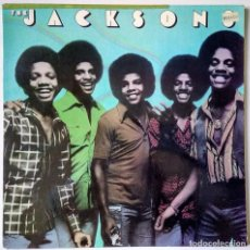Discos de vinilo: THE JACKSONS - ENJOY YOURSELF / THINK HAPPY / GOOD TIMES /... - EPIC CBS - 1976 - ED. AUSTRALIA. Lote 157121254