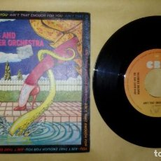 Discos de vinilo: JOHN DAVIS AND THE MONSTER ORCHESTRA - AIN'T THAT ENOUGH FOR YOU . Lote 157125190